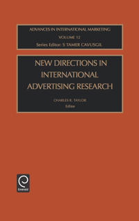 New Directions in International Advertising Research