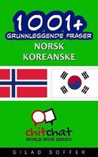 1001+ Grunnleggende Fraser Norsk - Koreanske