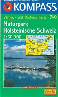 Naturpark Holsteinische Schweiz, Kompass Wanderkarte 740
