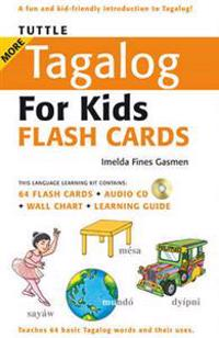 Tuttle More Tagalog for Kids Flash Cards