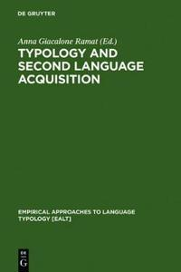 Typology and Second Language Acquisition