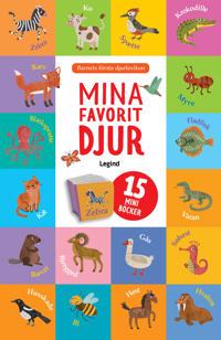 Mina favoritdjur - 15 mini böcker