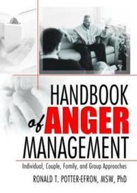 Handbook Of Anger Mangement