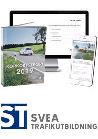 Körkort 2019: Teoripaket med senaste körkortsboken körkortsteori, körkortsfrågor online & videolektioner