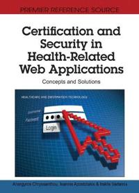 Certification and Security in Health-Related Web Applications