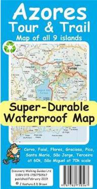 Azores TourTrail Super-Durable Map