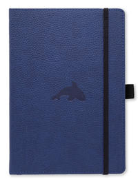 Dingbats* Wildlife A5+ Blue Whale Notebook - Dotted