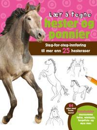 Lær å tegne hester og ponnier -  pdf epub