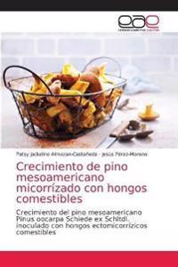 Crecimiento de pino mesoamericano micorrízado con hongos comestibles
