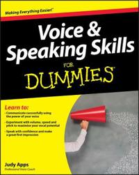 Voice & Speaking Skills for Dummies [With CD (Audio)]
