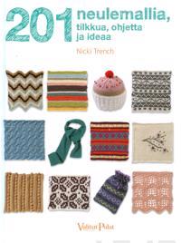 201 neulemallia, tilkkua, ohjetta ja ideaa