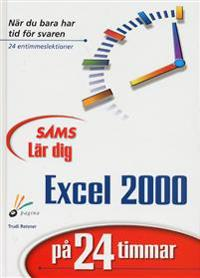 Lär dig Excel 2000 på 24 timmar