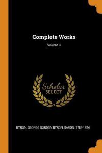 Complete Works; Volume 4
