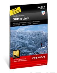 Høyfjellskart Glittertind 1:20.000 -  pdf epub