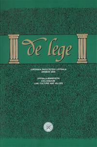 Uppsala-Minnesota Colloquium : law, culture and values