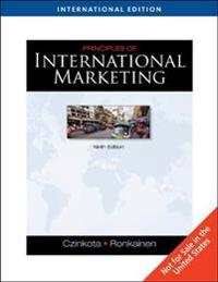 Principles of International Marketing, International Edition (with InfoTrac (R))