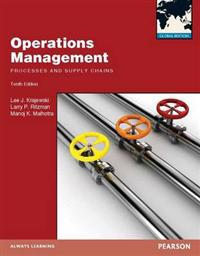 Operations Managment, plus MyOMLab with Pearson eText