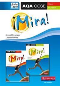 Mira AQA GCSE Spanish ActiveTeach (HigherFoundation)CDROM