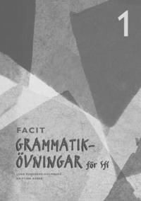 Grammatikövningar för sfi. D. 1, Elevfacit