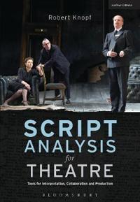 Script Analysis for Theatre