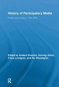 History of Participatory Media