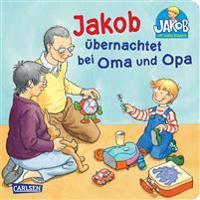 Jakob übernachtet bei Oma und Opa