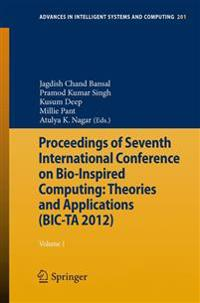 Proceedings of Seventh International Conference on Bio-inspired Computing