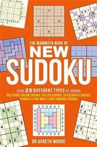 Mammoth book of new sudoku - over 25 different types of sudoku, including j