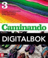 Caminando 3 Lärobok Digital, tredje upplagan