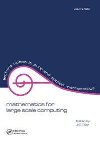 Mathematics for Large Scale Computing