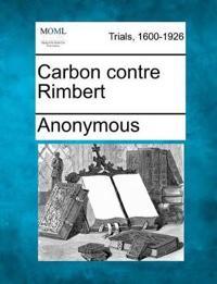 Carbon Contre Rimbert