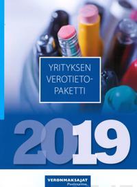 Yrityksen verotietopaketti 2019