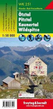 Otztal, Pitztal, Kaunertal, Wildspitze GPS