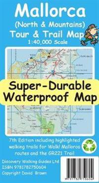 Mallorca North Mountains Tour Trail Super Durable Map 7th Ed