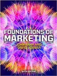 Foundations of Marketing 6e