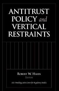 Antitrust Policy And Vertical Restraints