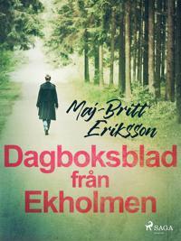 Dagboksblad från Ekholmen