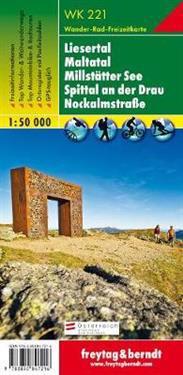 Liesertal, Maltatal, Millstatter See, Spitt a.D., Drau, Nockalmstrasse