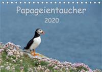 Papageientaucher 2020CH-Version  (Tischkalender 2020 DIN A5 quer)