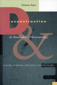 Deconstruction and the Remainders of Phenomenology