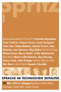 Sprache im technischen Zeitalter 205 (2013)