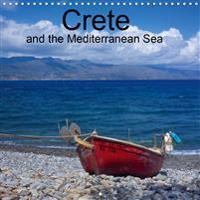 Crete and the Mediterranean Sea (Wall Calendar 2020 300 × 300 mm Square)