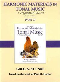 Harmonic Materials in Tonal Music