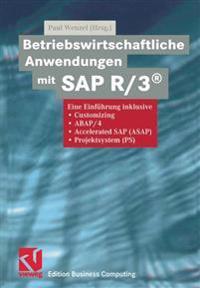 Betriebswirtschaftliche Anwendungen Mit Sap R/3