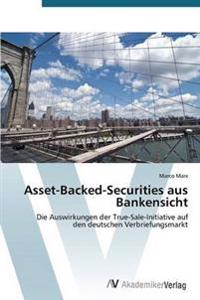 Asset-Backed-Securities Aus Bankensicht