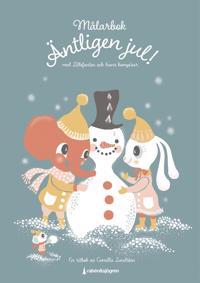 Äntligen jul! Målarbok : med Lillefanten och hans kompisar