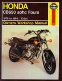 Honda Cb650 Sohc Fours: 1978 to 1984