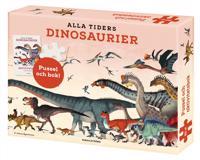 Alla tiders dinosaurier: aktivitetsbok, plansch och pussel 150 bitar - Johan Egerkrans   Laserbodysculptingpittsburgh.com