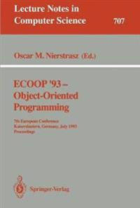 ECOOP '93 - Object-Oriented Programming