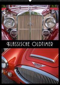 Klassische Oldtimer (Wandkalender 2020 DIN A2 hoch)